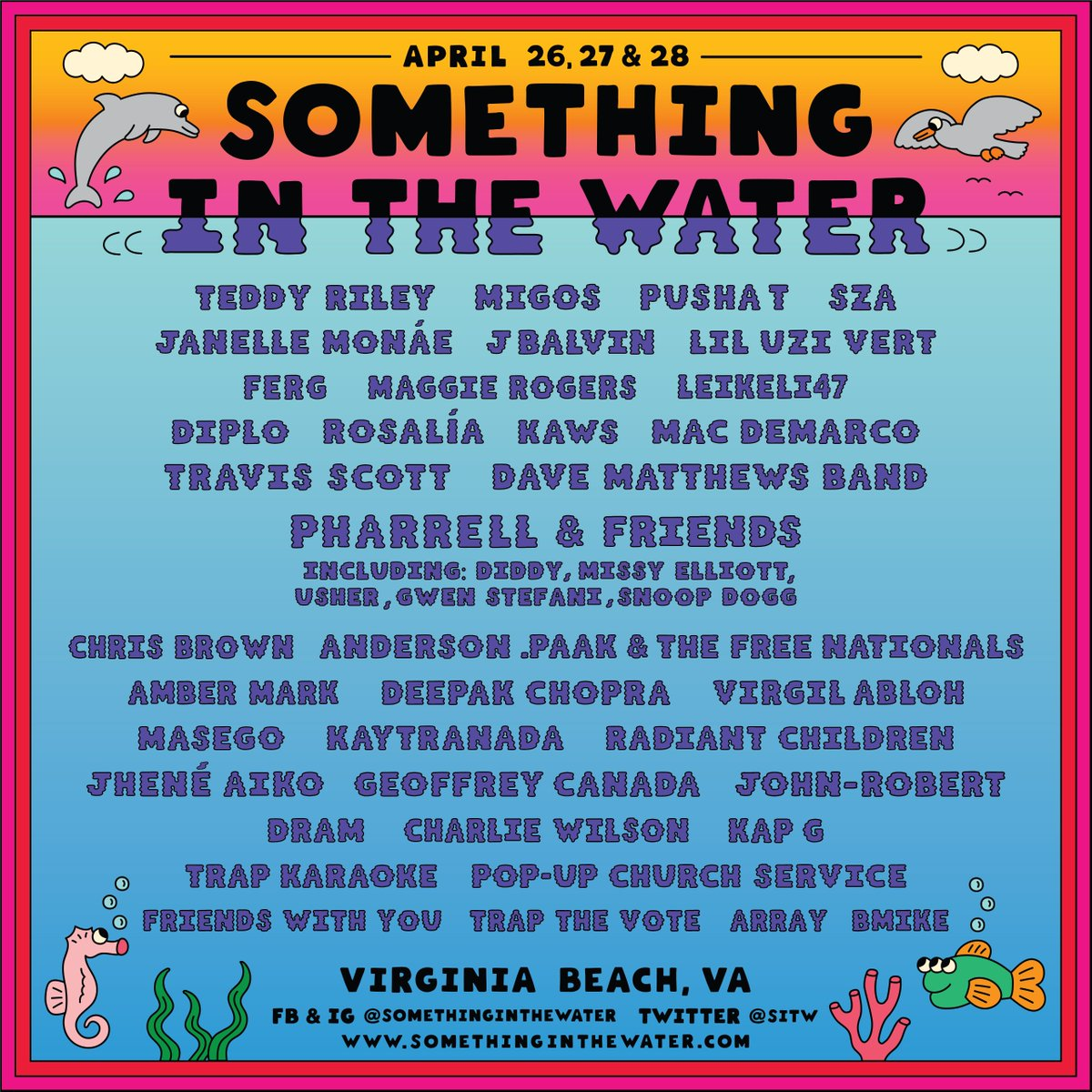 RT @sitw: New lineup alert❗???? Don't miss #SITWfest. Limited passes still avail at https://t.co/hitO9dwpDD https://t.co/7LXv2gHFpJ