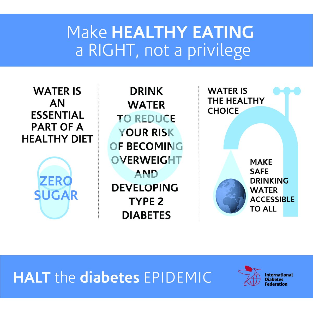 test Twitter Media - Drinking water is an essential part of a healthy diet to help prevent type 2 #diabetes and should be accessible to all  #WorldWaterDay https://t.co/Yb7H2fRvHt https://t.co/y9qweXyO4N