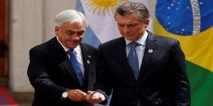 Piñera y Macri celebran la aprobación de acuerdo comercial bilateral https://t.co/PzksY0bbrX https://t.co/t7bwH8qT6T