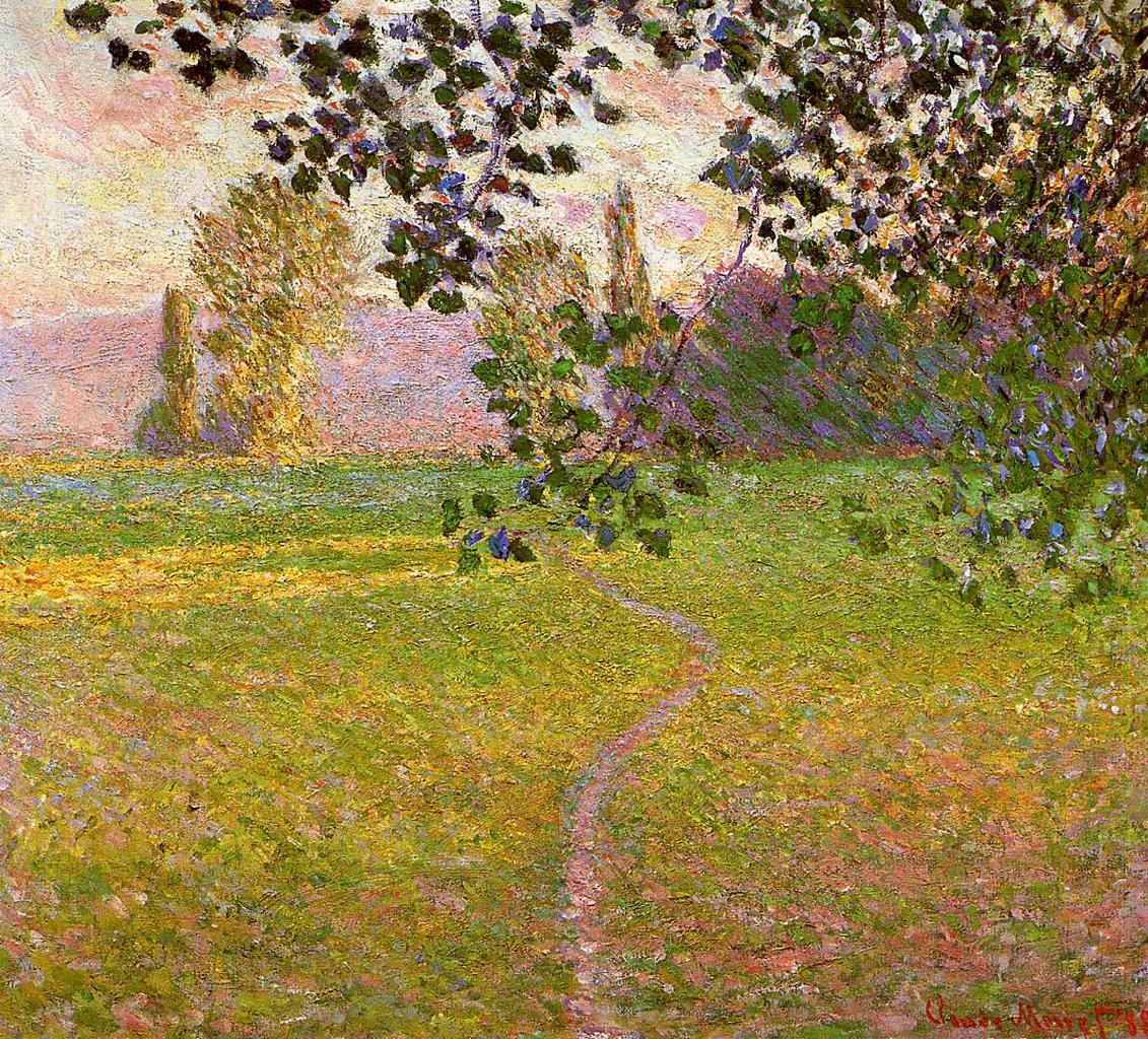 RT @artistmonet: Morning Landscape, Giverny, 1888 #frenchart #claudemonet https://t.co/lHGtE5zPwY