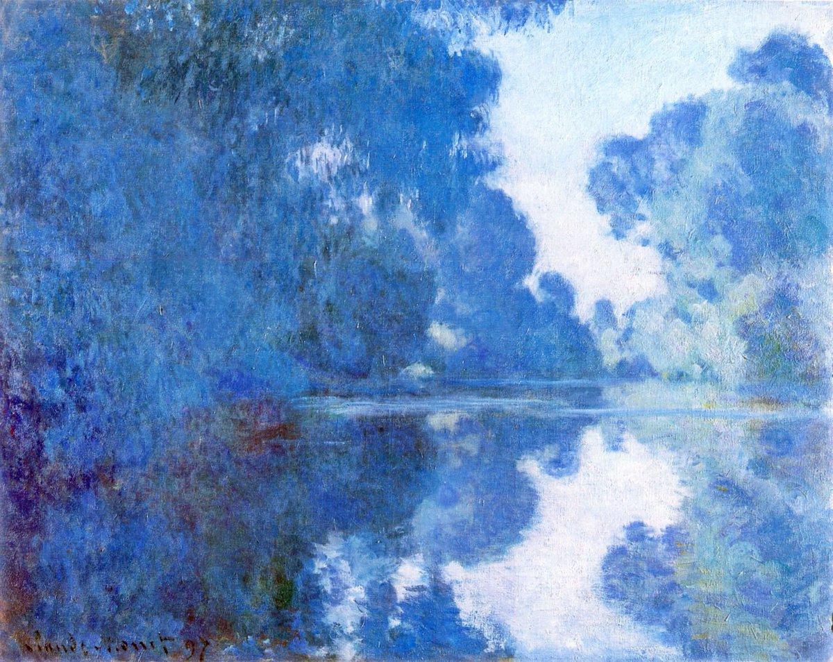RT @artistmonet: Morning on the Seine, 1897 #claudemonet #impressionism https://t.co/rQWJhimbWZ