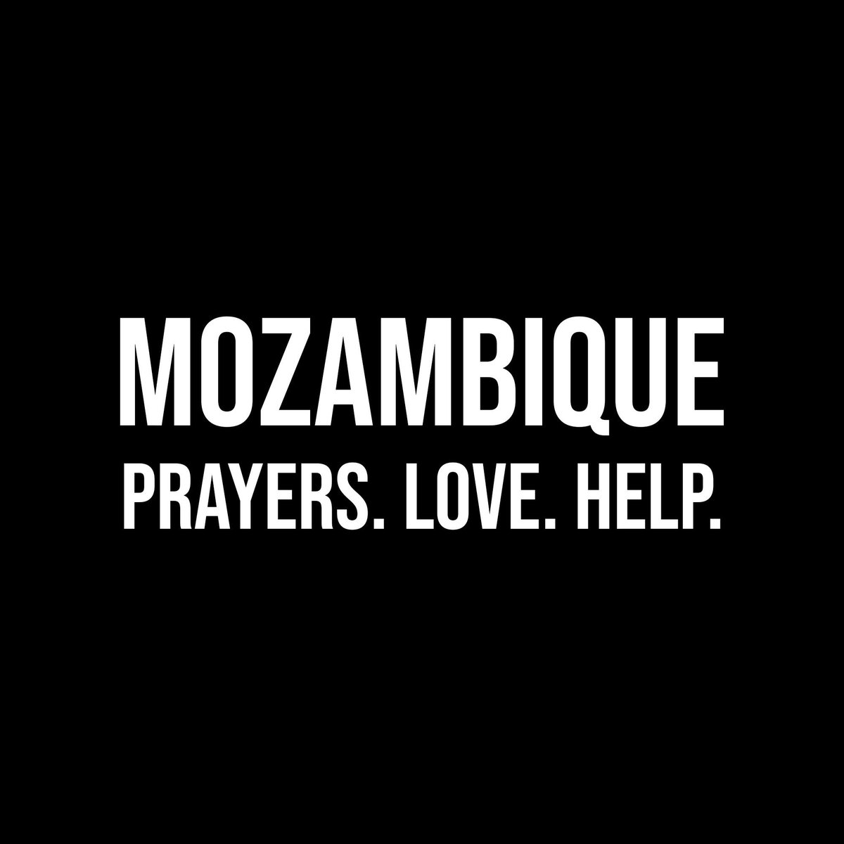 I urge us all to help Mozambique in this time of crisis. Let's put attention and action on this natural disaster. https://t.co/O7ZJBwKZiL