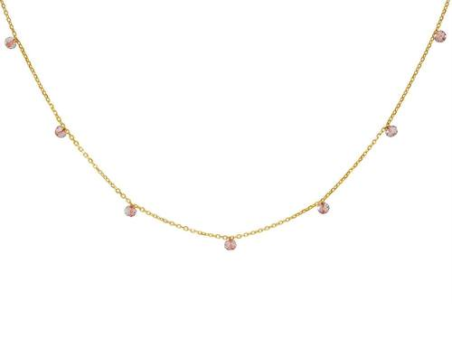Mini Rose Quartz Stones Necklace USD 54.48 https://t.co/gIHZ6Pr21e https://t.co/W0R24wa0RY