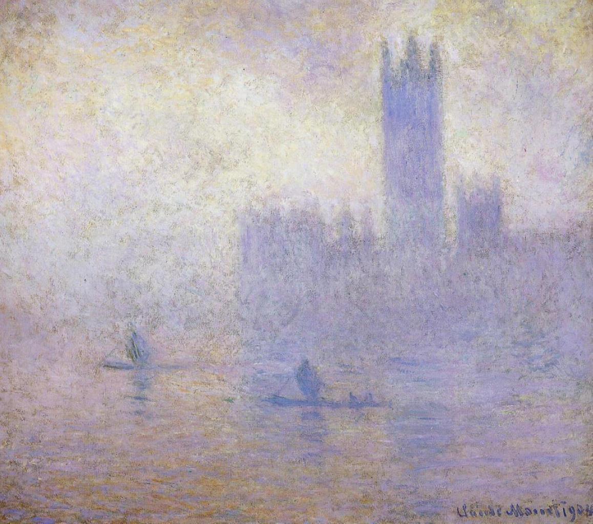 RT @artistmonet: Houses of Parliament, Fog Effect, 1901 #claudemonet #impressionism https://t.co/1tZUkvpQee