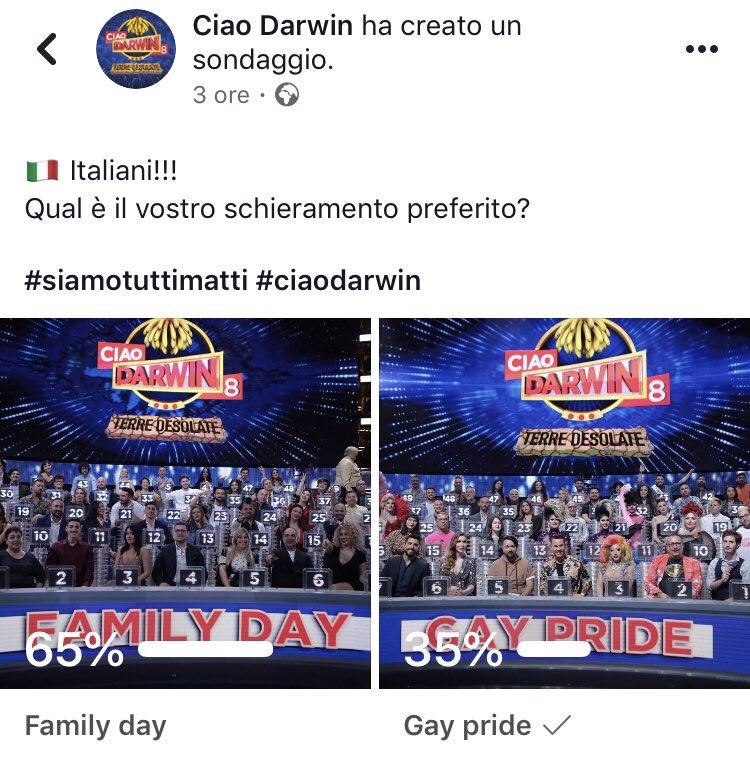 #CiaoDarwin