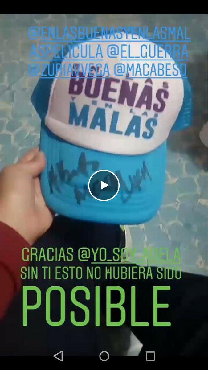El. Mejor día de mi vida No pude subir video pero aquí el regalito que obtuve gracias a @yo_soy_adela gracias 😍😍😍 https://t.co/BsMkVaPaRF