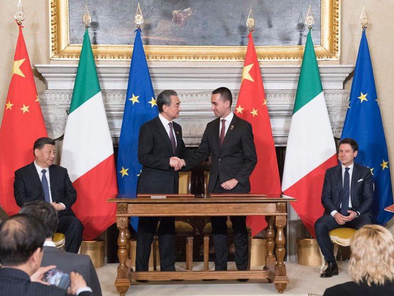 #ItaliaCina