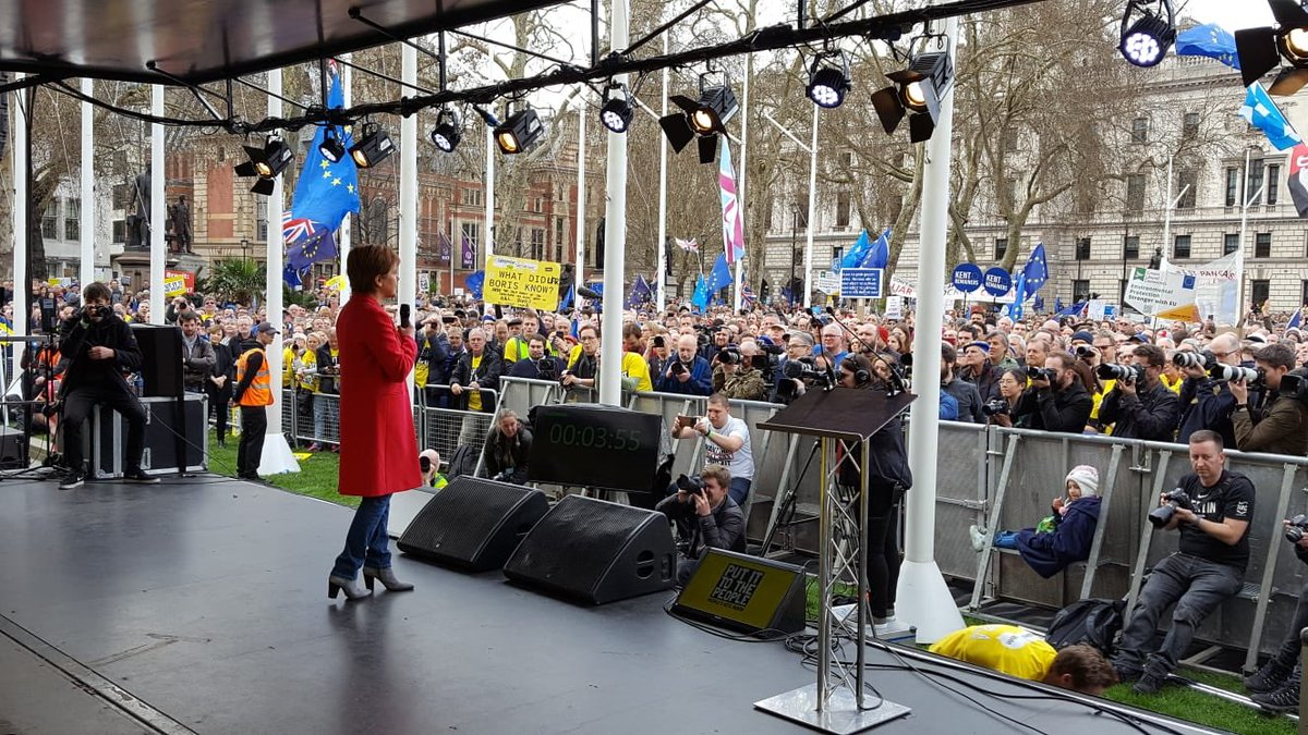 Massive crowds at #PutIttothePeople rally in London today. Good to be there. https://t.co/hgY2kZaW0c