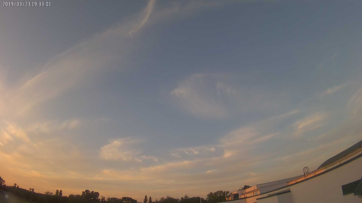 Thurgood Marshall Middle School at sunset and it's 69.8 F https://t.co/Dsf4Gqmn0h