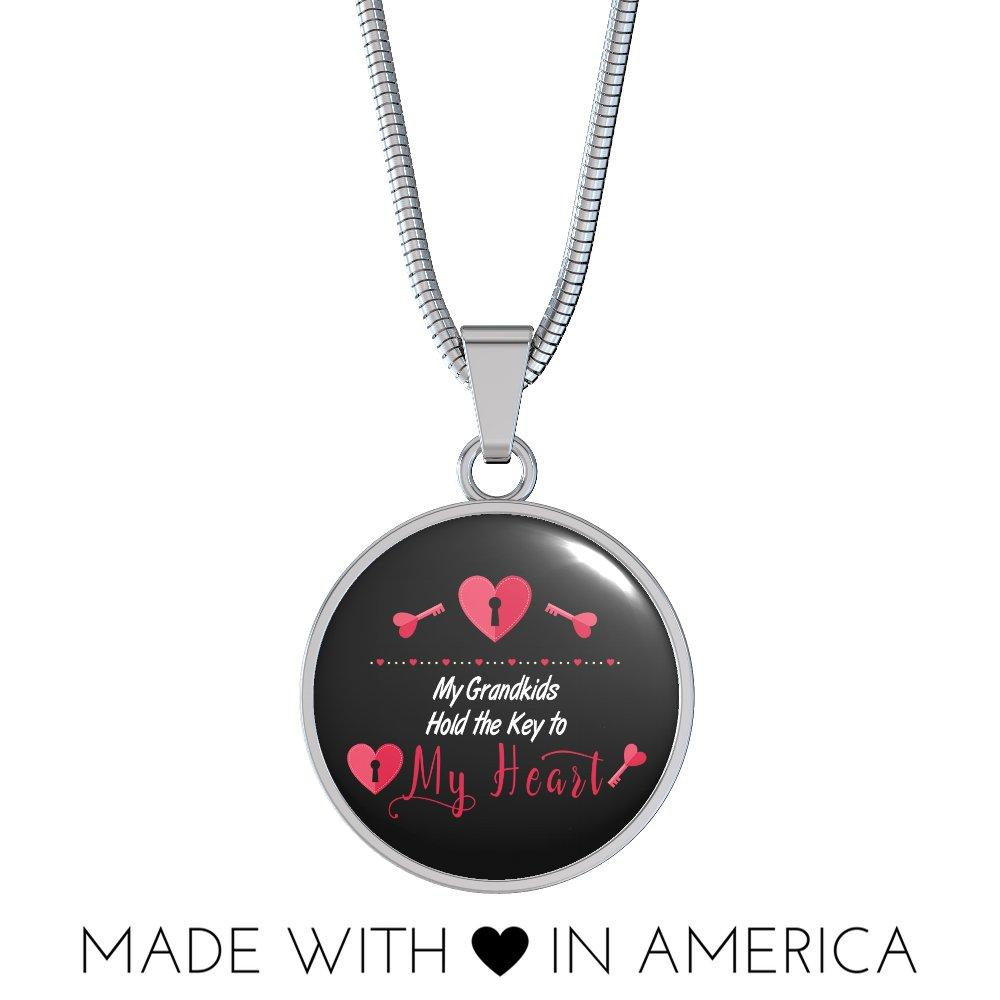 My Grandkids Hold the Key to My Heart Necklace USD 49.95 https://t.co/ZOcufq6zvQ https://t.co/XuYW5RYlbP