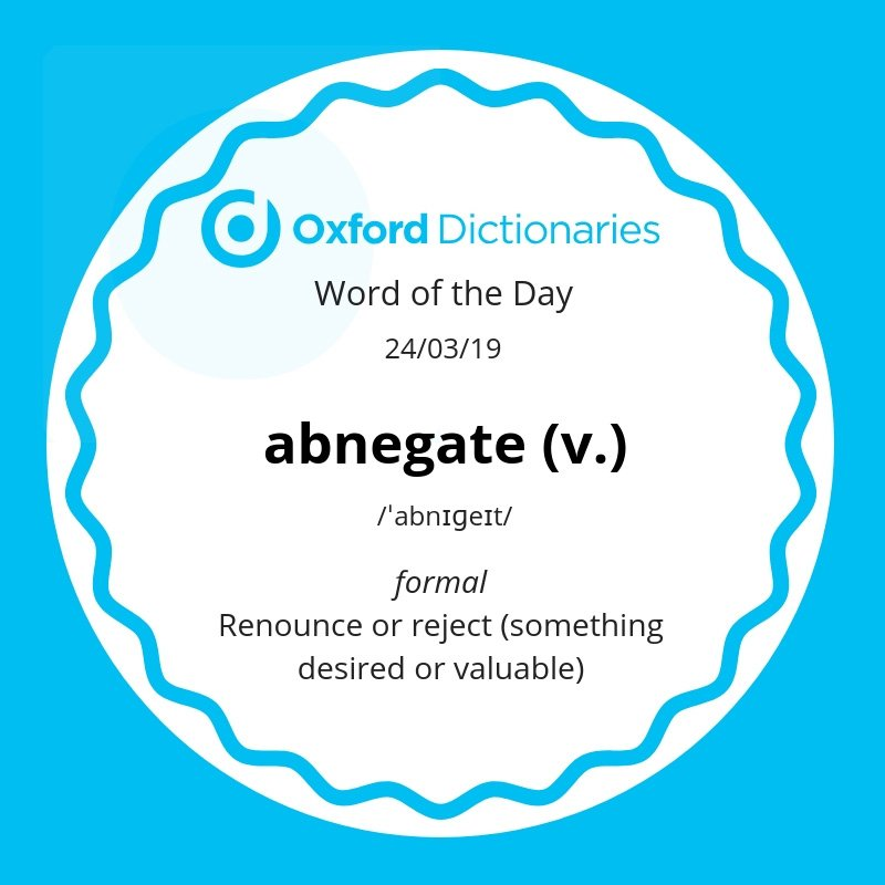 test Twitter Media - Word of the Day: abnegate https://t.co/mfWCklcrd4 https://t.co/7Xq1BNeiVs