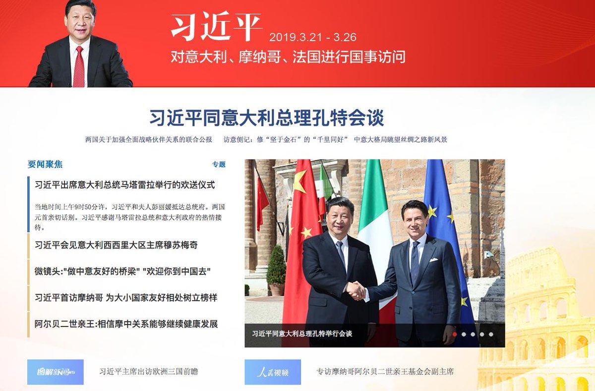 #XiJinpinginItalia