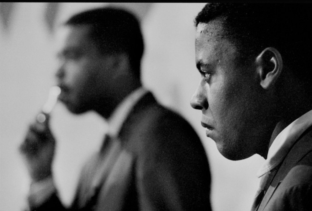 Wayne Shorter  (with Curtis Fuller in the back) Sanremo (Italy) 1963 #jazz #jazzgiants #tenorsax https://t.co/kLbDZkCDXP