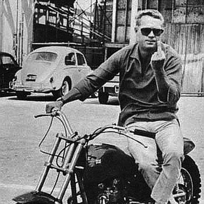 "Steve McQueen ""The King of Cool\"" Born March 24th 1930 Happy Birthday"