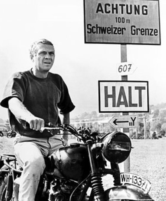 Happy birthday Steve McQueen (born Beech Grove, Indiana, USA, March 24, 1930).