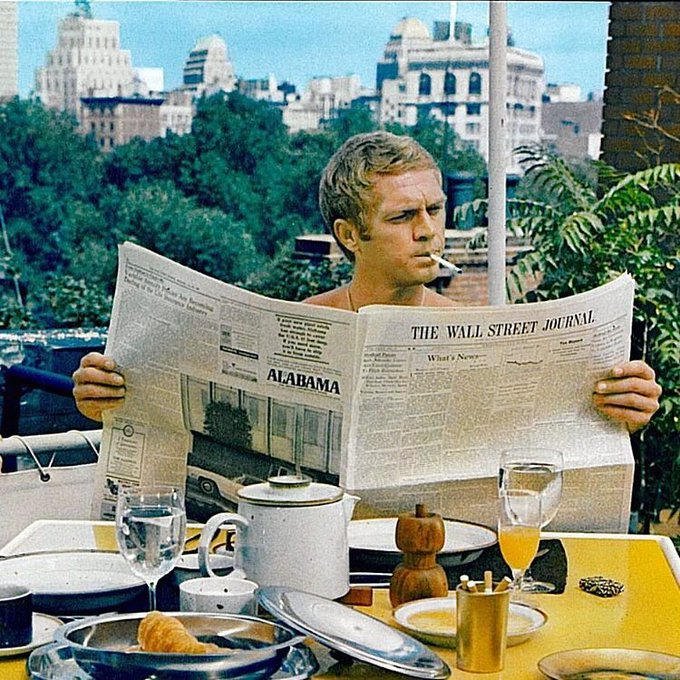 Happy birthday, Steve McQueen.  Always an icon. Always The King of Cool.  March 24, 1930 - November 7, 1980