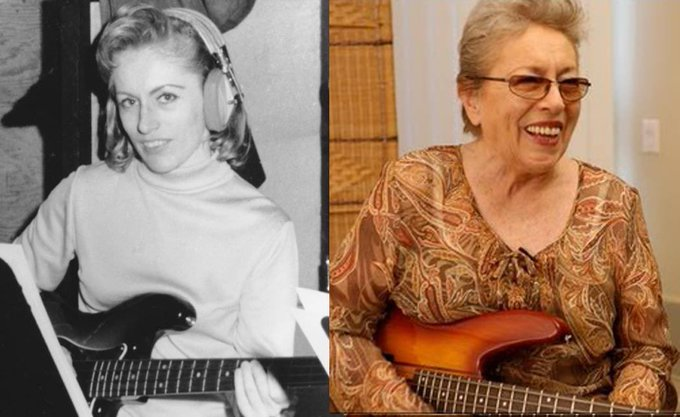 Happy Birthday to the queen of bass, the legendary Carol Kaye!