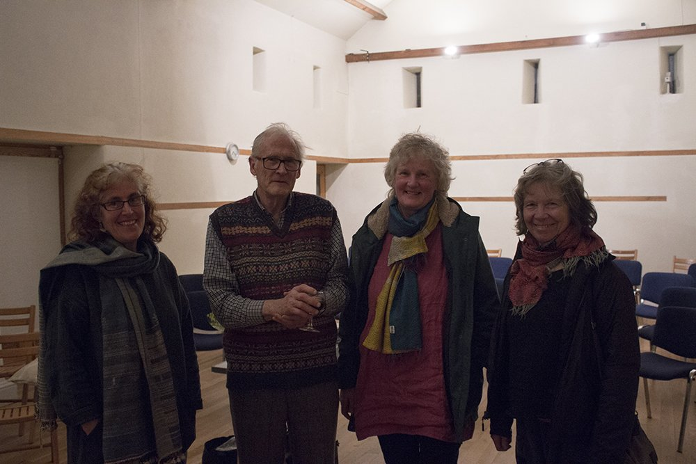 Image for It's been a great weekend here at Bleddfa with two fascinating talks to welcome in the Spring. Thanks to all who attended and to our wonderful speakers! Here's a snap of Stephen Hugh-Jones chatting with some of the attendees after his brilliant lecture last night! #BleddfaCentre https://t.co/Z2nlwHZVxb