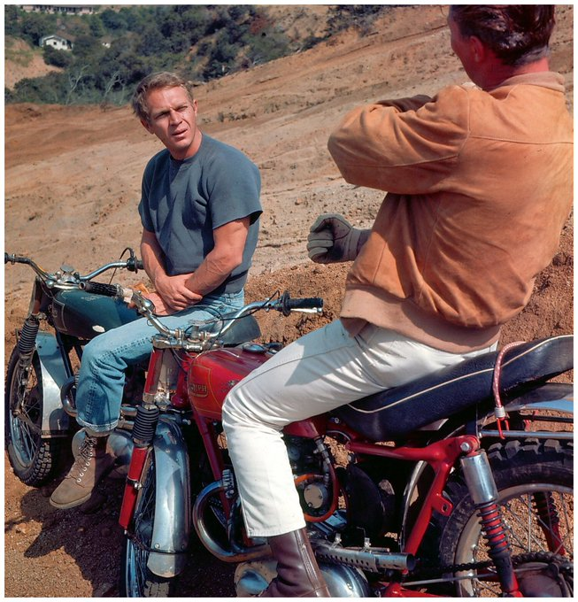 Happy birthday to screen legend Steve McQueen who was born on March 24th 1930.