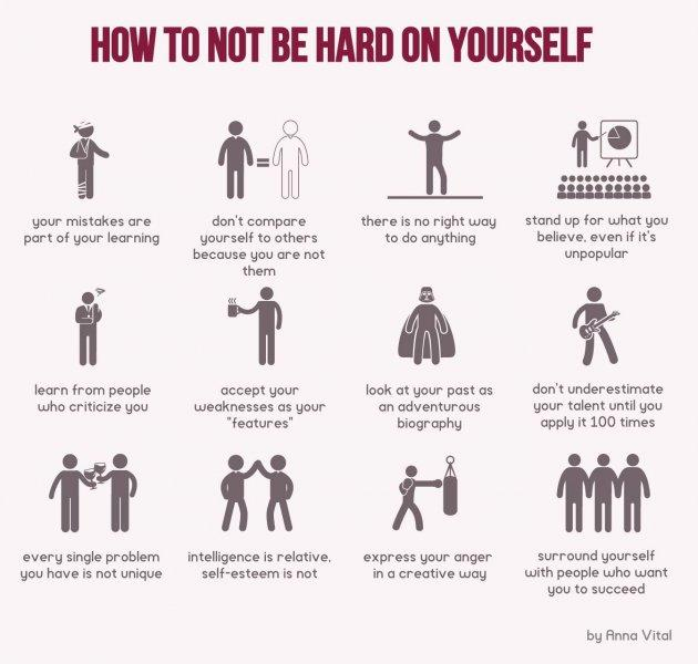 test Twitter Media - RT @AnatSamid: How to NOT be hard on yourself #selfcare #compassion #activities #action https://t.co/I69KKG2u7F