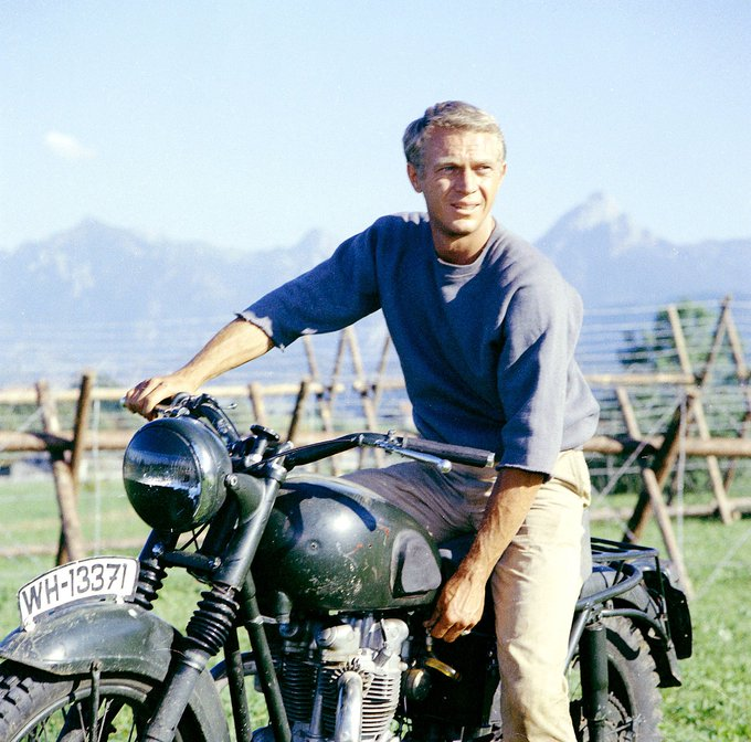 Also, a happy coincidence, Steve McQueen\s birthday.