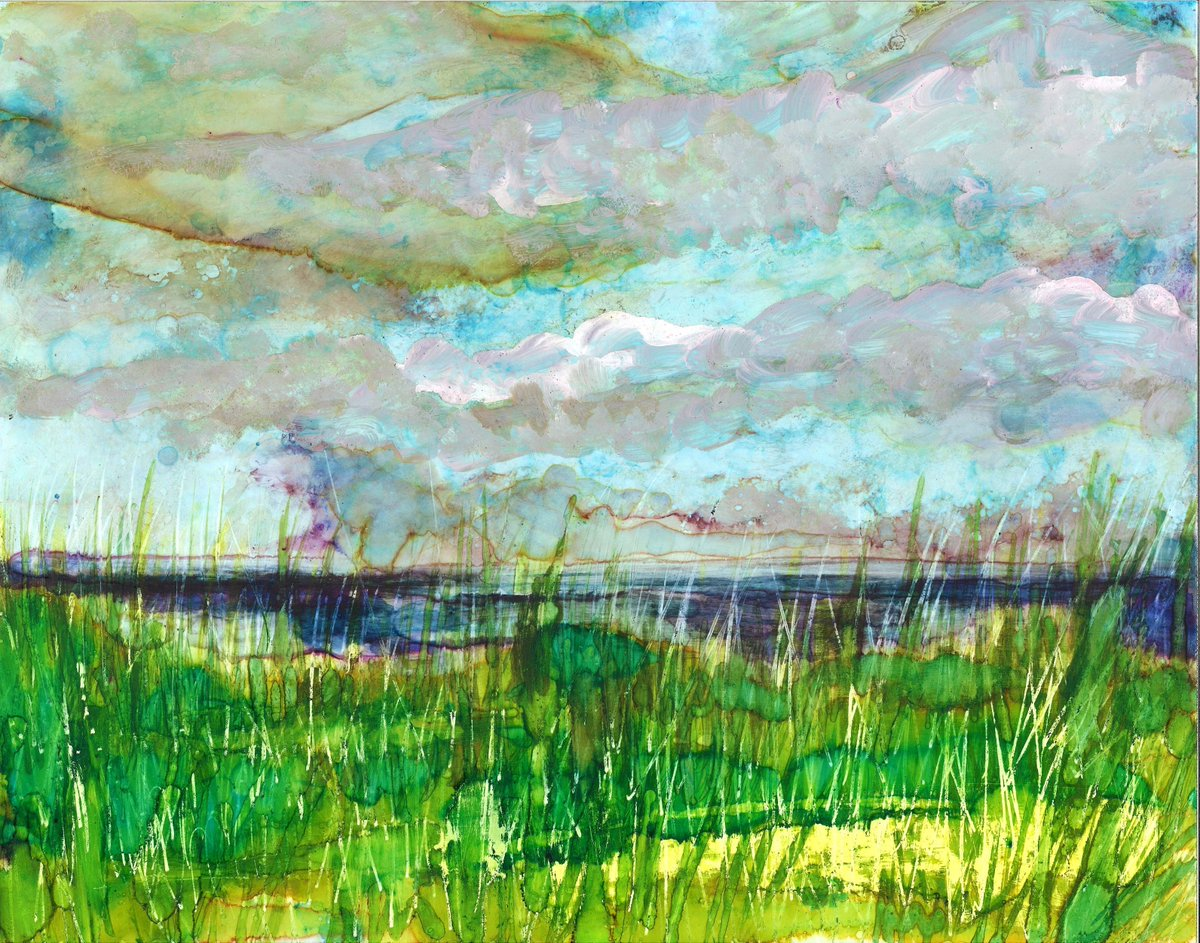 Stormy Beach Original Painting and Greeting Cards USD 23.00 https://t.co/DwhWUmo0hh https://t.co/BcmKk21LAn
