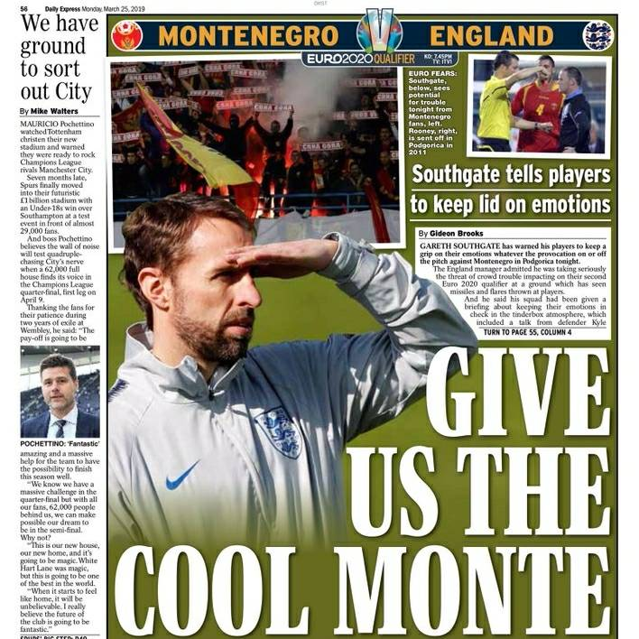 test Twitter Media - Today's BACKPAGES: Give us the cool, Monte, Gary McAllister Battered By Yob. #Todayspapers #TodaysBackpages #Backpages #newspaper https://t.co/X3oZRhP0y5
