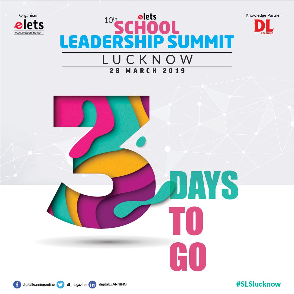 test Twitter Media - 3 DAYS TO GO!!!  Be a part of 10th School Leadership Summit to know about the latest and most innovative practices of School Education. The event is going to be organised on March 28, 2019.  #education #Schooleducation #SLSlucknow  @eletsonline @chandananand26 @dubeyashutosh79 https://t.co/fNXLw54TFZ