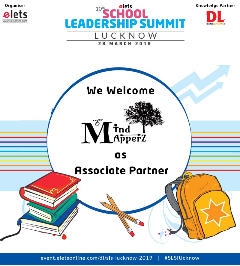 test Twitter Media - We are privileged to welcome @MindMapperz as Associate Partner for the 10th School Leadership Summit Lucknow to be organised on 28 March.  #education #Schooleducation #SLSlucknow  @eletsonline @ArpitKGupta @chandananand26 @dubeyashutosh79 https://t.co/cTp8MljrAo