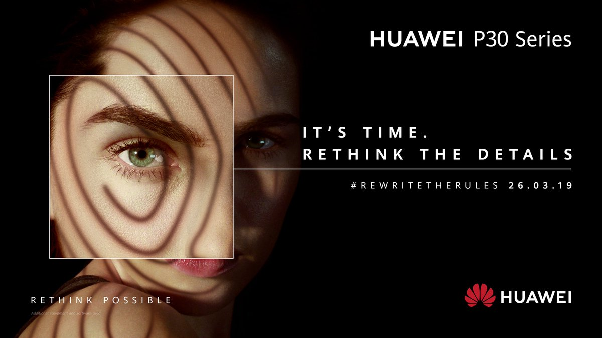 It's time to rethink what's possible  @HuaweiMobileIE #RewriteTheRules #HuaweiP30 https://t.co/62EfL2PcAg