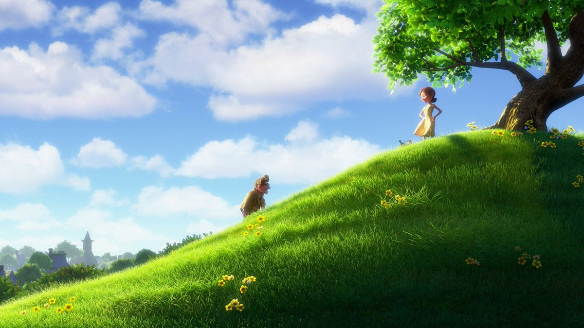 RT @Cinemartistry: Up (2009)  Director: Pete Docter  Cinematographers: Patrick Lin & Jean-Claudie Kalache https://t.co/h24CQN1ZdZ