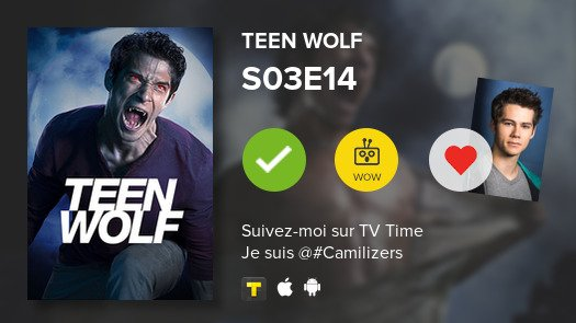 test Twitter Media - Sister of Callie just watched episode S03E14 of Teen Wolf! #TeenWolf  #tvtime https://t.co/b3lMJKC3Az https://t.co/O2q88sSCWW
