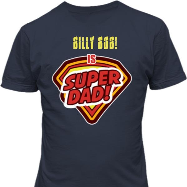 Super Dad Custom T Shirt Add Dad's Name USD 24.95 https://t.co/v6029ffTDn https://t.co/QbNPGUAmHS