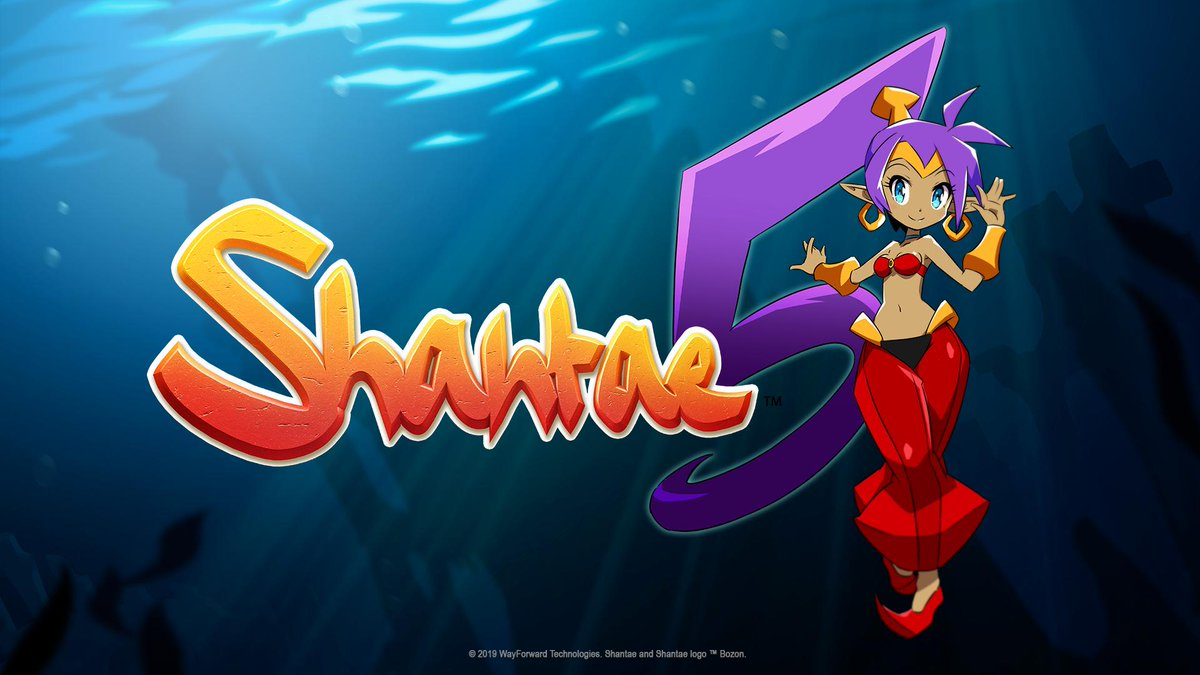 test Twitter Media - Today we're thrilled to announce Shantae 5! You're invited to join Shantae in a brand-new adventure later this year on PS4, Xbox One, Nintendo Switch, PC... AND the newly announced Apple Arcade! Stay tuned for more details! Learn more about Apple Arcade at https://t.co/KwXqXtb2ft https://t.co/SFc1iOswHT
