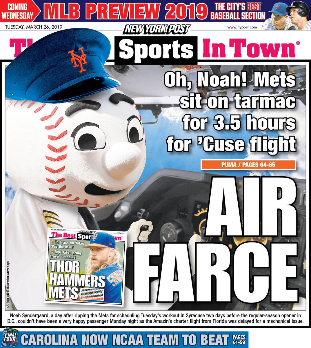test Twitter Media - Today's Mets backpages @NYDNSports @nypostsports https://t.co/WCLukLChFp