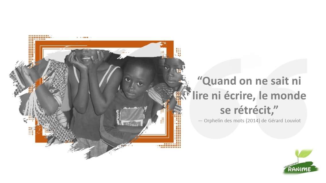 """test Twitter Media - """"Quand on ne sait ni lire ni écrire, le monde se rétrécit""""  Aidez nous à aider les enfants en difficulté scolaire en #Guinee et au #Mali #MardiConseil #enfance #education https://t.co/nfMNED95OX"""
