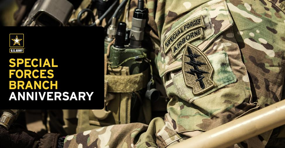 Happy birthday, U.S. Army #SpecialForces! #DeOppressoLiber https://t.co/P71MKBrmU5