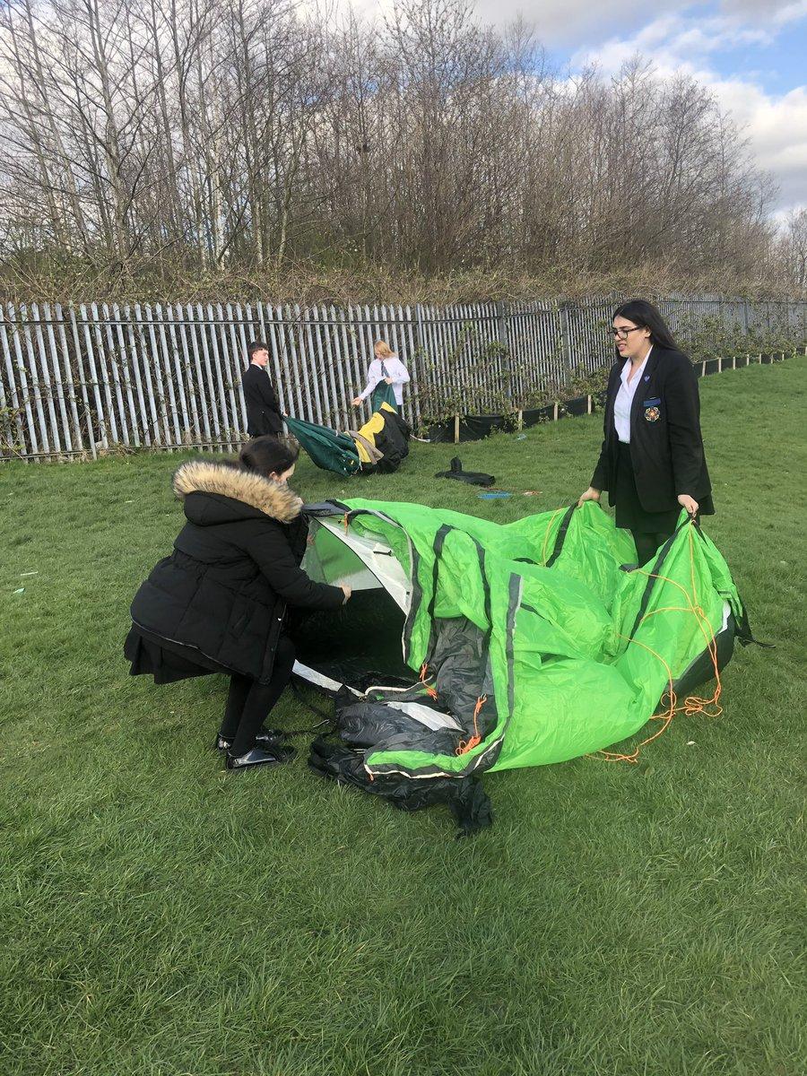 test Twitter Media - The new D of E group are practising their tent building skills #dofe2019 https://t.co/KlStWqmfHP