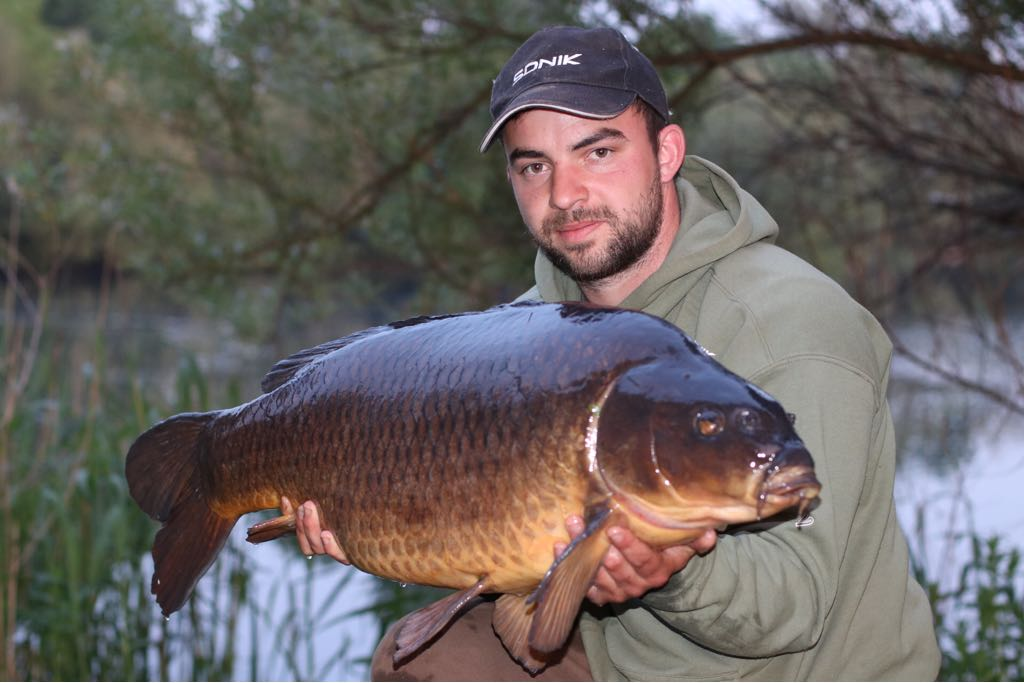 One of Hortons gem's, odd scale @<b>Soniksports</b> #carpfishing #commoncarp #carp https://t.co/SRUE