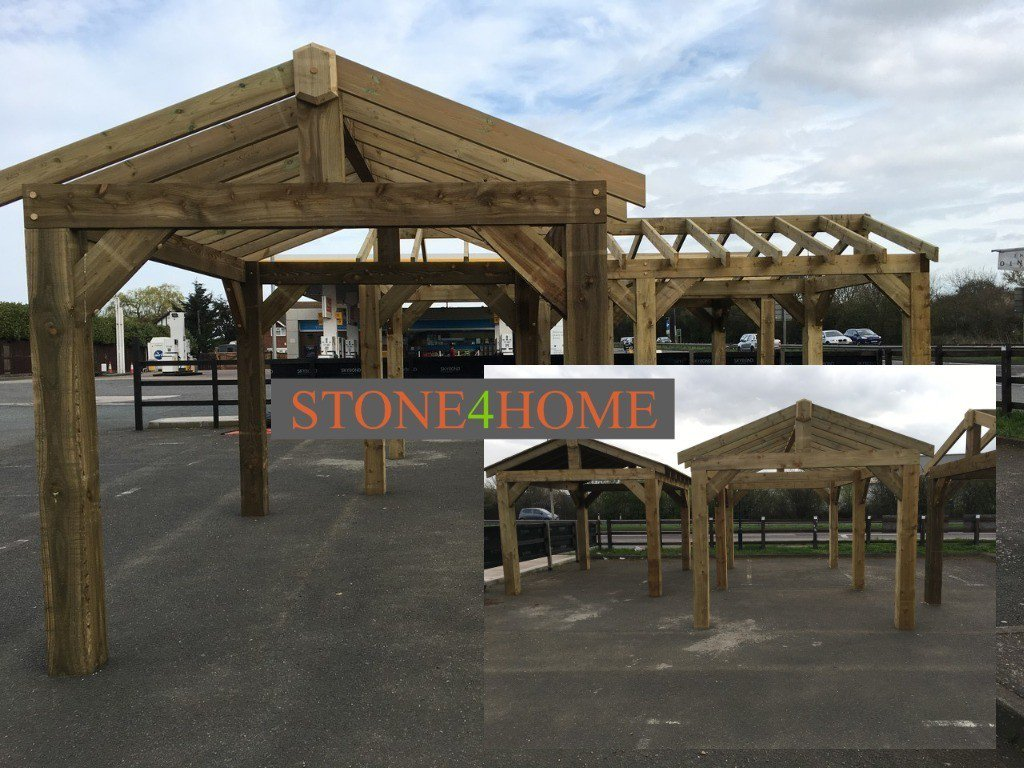 test Twitter Media - Fantastic new addition to our external displays. Carports, canopies & sails. Standard sizes available, or made to any size & shape. Frame only, boarded roof, felt & shingles supplied if required. Full installation service available, or supplied flat-pack with full instructions. https://t.co/X5IwpLAQAi