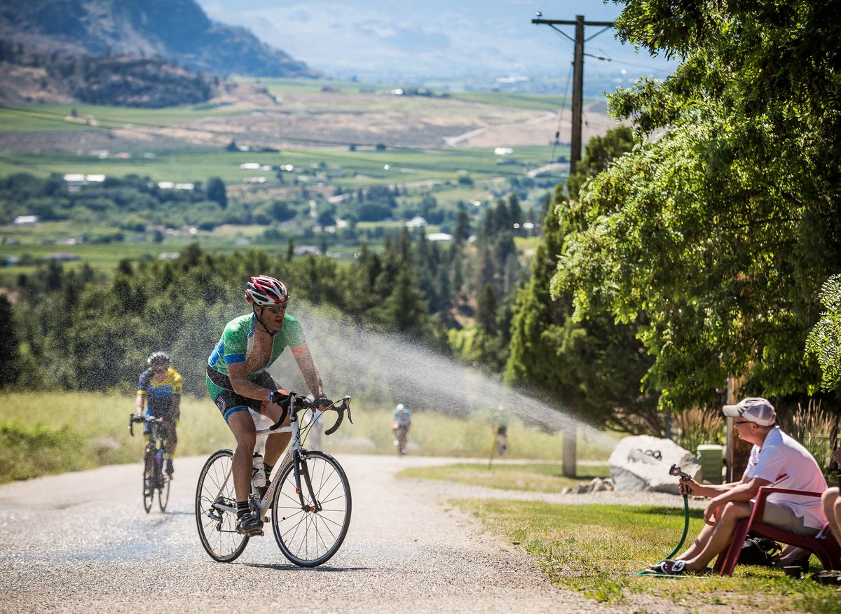 test Twitter Media - From now on, these are the only outdoor showers we're interested in... #Granfondo #RideHardSmileOften 2019 @ProsperaCU @axelsgranfondo (July 14th | #Penticton, BC). Join us for the ultimate ride through the #Okanagan wine country. https://t.co/UddWoEc4Z0 https://t.co/8hxGeCTqMn