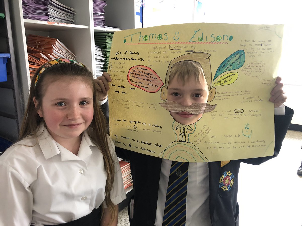 test Twitter Media - Learners in year 7 researched famous scientists as part of science week and did a fantastic job with their head in the hole presentations! https://t.co/mTqCFgQgcP