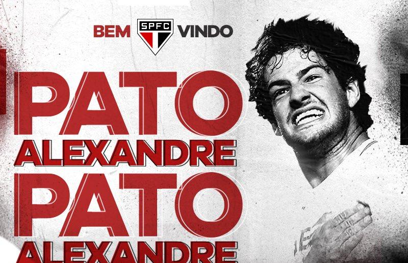 RT @SaoPauloFC: Bate no peito, @AlexandrePato: o São Paulo é sua casa!  Leia mais: https://t.co/B8bXhW5aL8 https://t.co/okhIerFrEH