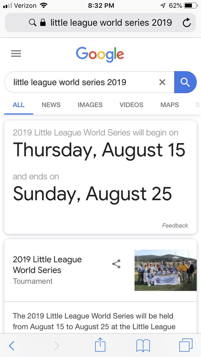 RT @cpacella1: Clear your schedules. Carthage little league Nationals are going the distance baby. https://t.co/vN5wfITSgP