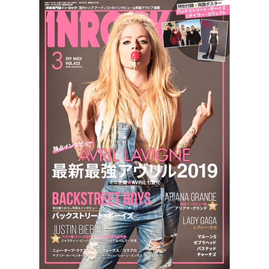 I love you Japan!  I love you @inrock - thank you for supporting me and my music in Japan ???? https://t.co/4mgKeouqw9