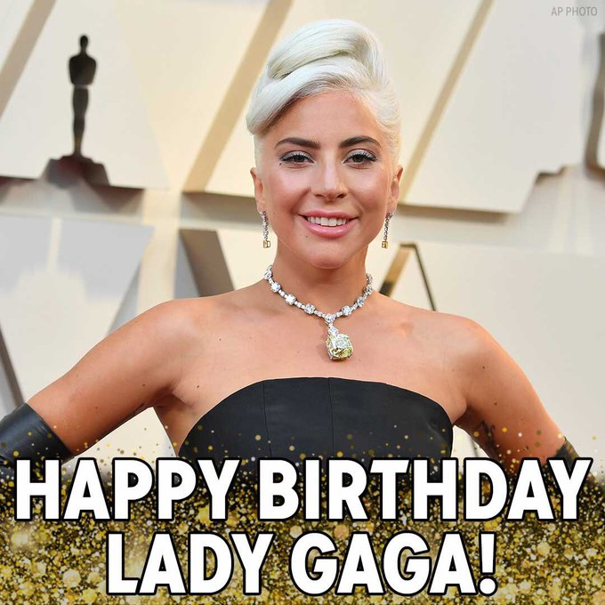 Happy Birthday to the one and only Lady Gaga! What is your favorite song?