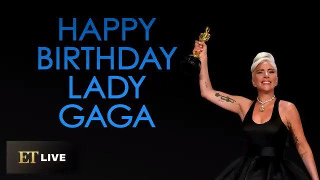 Lady Gaga is 33 and thriving. Happy birthday to this queen!