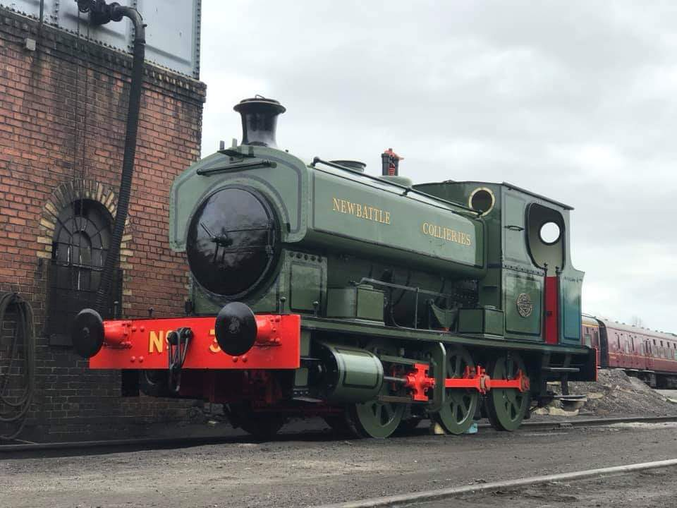 test Twitter Media - Cosmetic restoration on No. 3 is complete. She'll be arriving to go on display @NatMiningMuseum soon! @bonessrailway ^JS https://t.co/DUjoHlo8FR