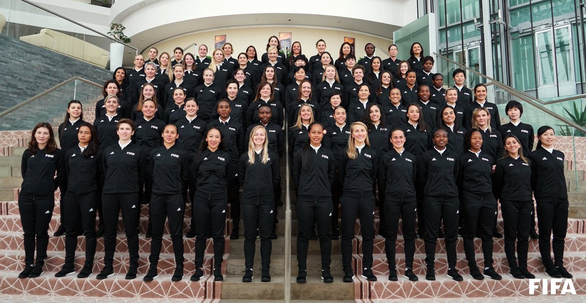 The next important step in their preparation: FIFA Women's Referees Seminar with the selected match officials for the FIFA Women's World Cup France 2019 starts today in Doha  @FIFAWWC #DareToShine #FootballTechnology