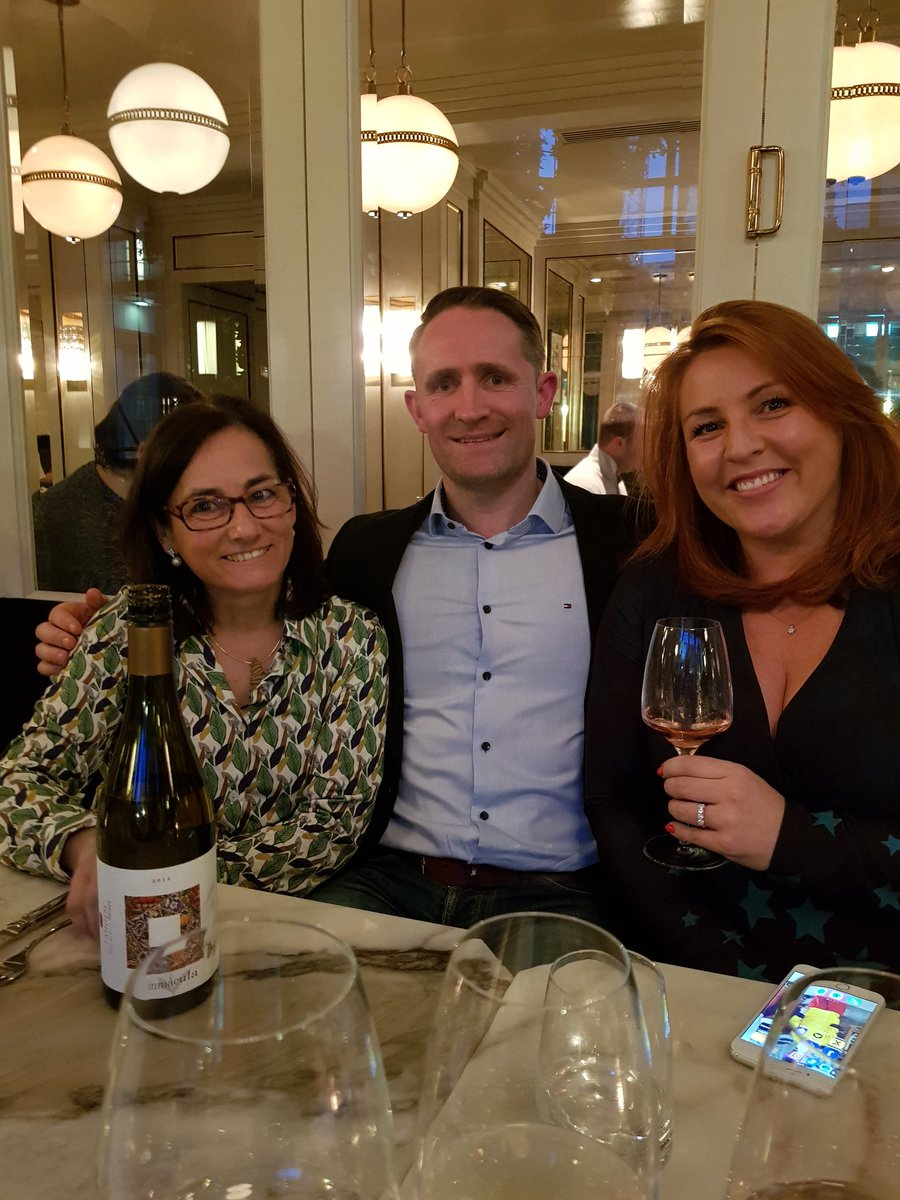 Enjoying @bodegatandem wines with Alicia tonight @WestburyDublin @WildeDublin (@LynneCoyleMW) https://t.co/Szk8wl4VOa